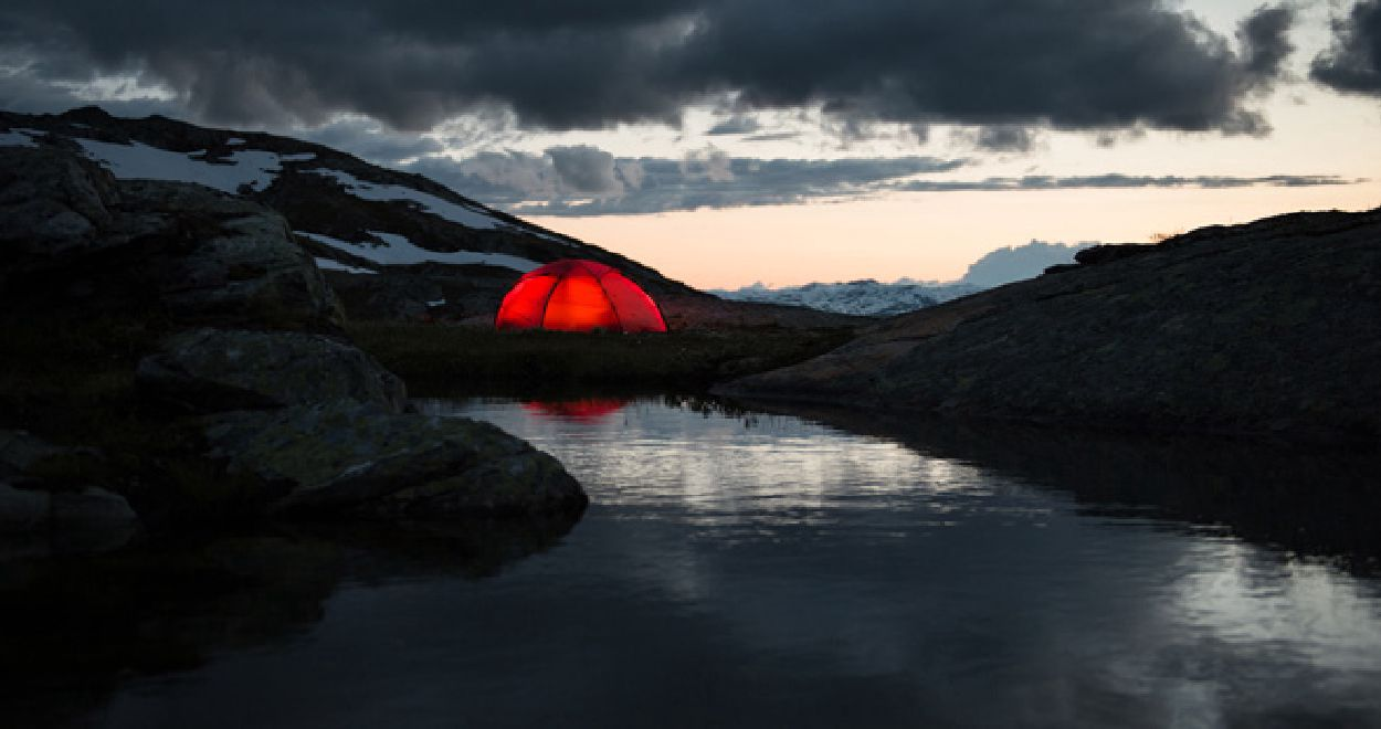 In the mountains you are well advised with a dome tent | Photo: Hilleberg
