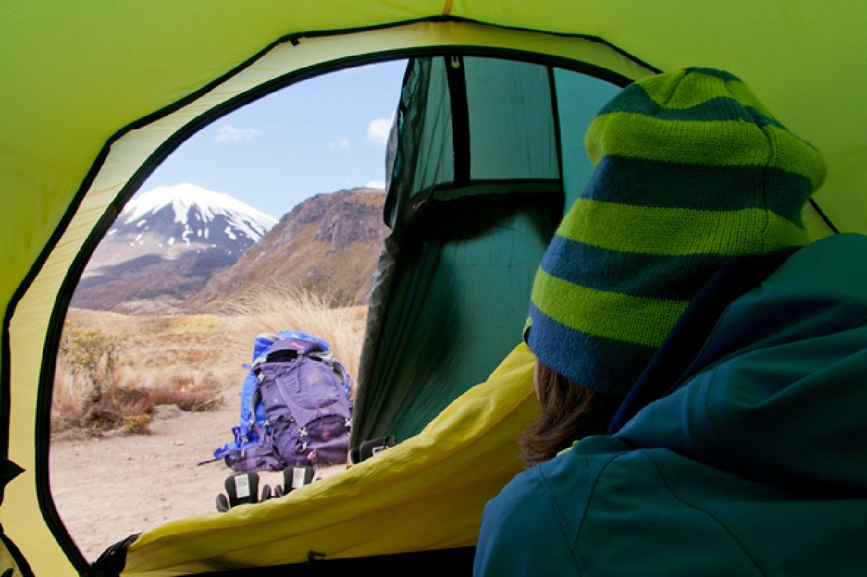 Staying dry? With the right material this won't pose a problem. | Photo: Bergans / Fredrik Schenholm