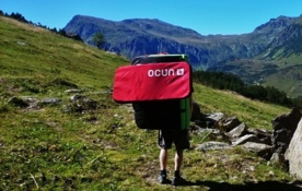 Klettersteigset Ocun Test : Ocun paddy sitcase in crashpad im test