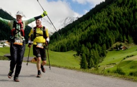 Transalpine Run: Team Viking Footwear beim TAR 2014