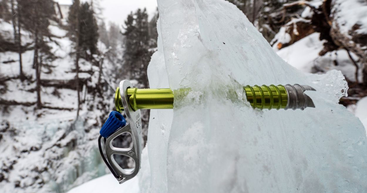 Ocun Klettergurt Test : Black diamond ultralight ice screw leichtgewicht eisschraube im test