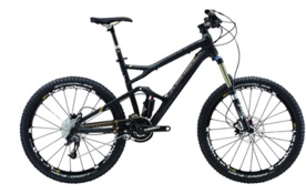Cannondale Jakyll II Carbon im Bergzeit Moutainbike-Test