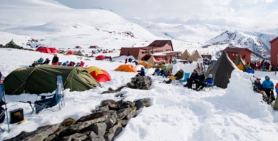 Skitouren High Camp mit Norrøna in Norwegen