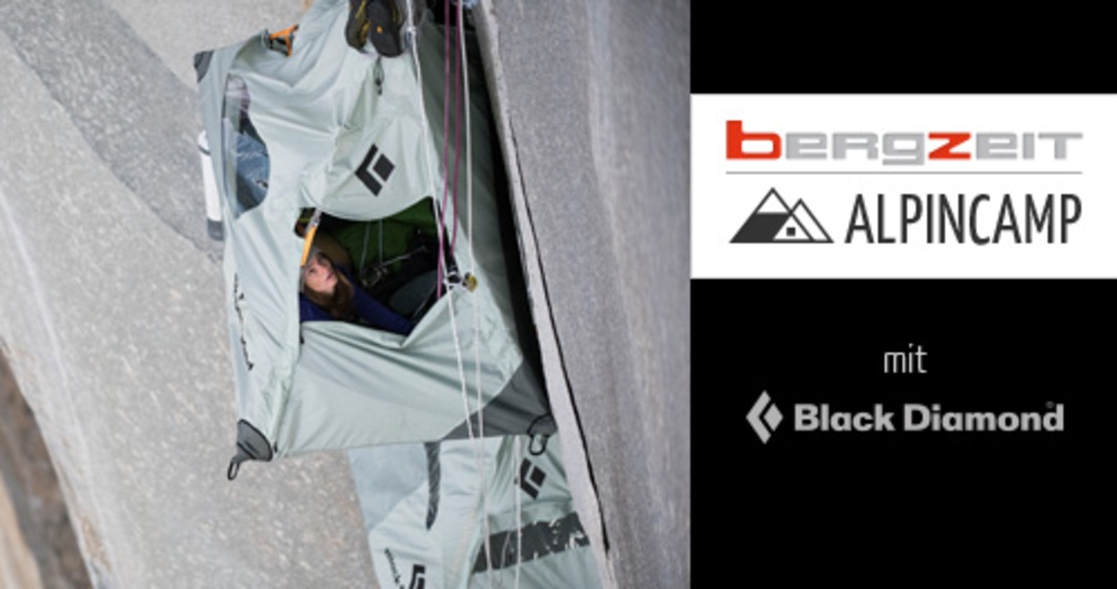 Klettergurt Black Diamond Damen : Bergzeit alpincamp mit black diamond eine nacht im portaledge