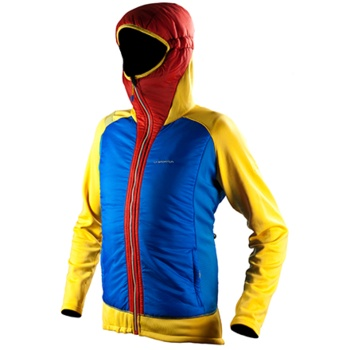La Sportiva Primus Hoody: Polartec and Primaloft make the hybrid thermal jacket the ideal outdoor companion.