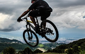 Mountainbiken in Nepal
