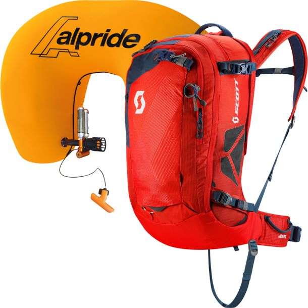Scott Air Free AP 32 Kit Lawinenrucksack burnt orange - eclips blue