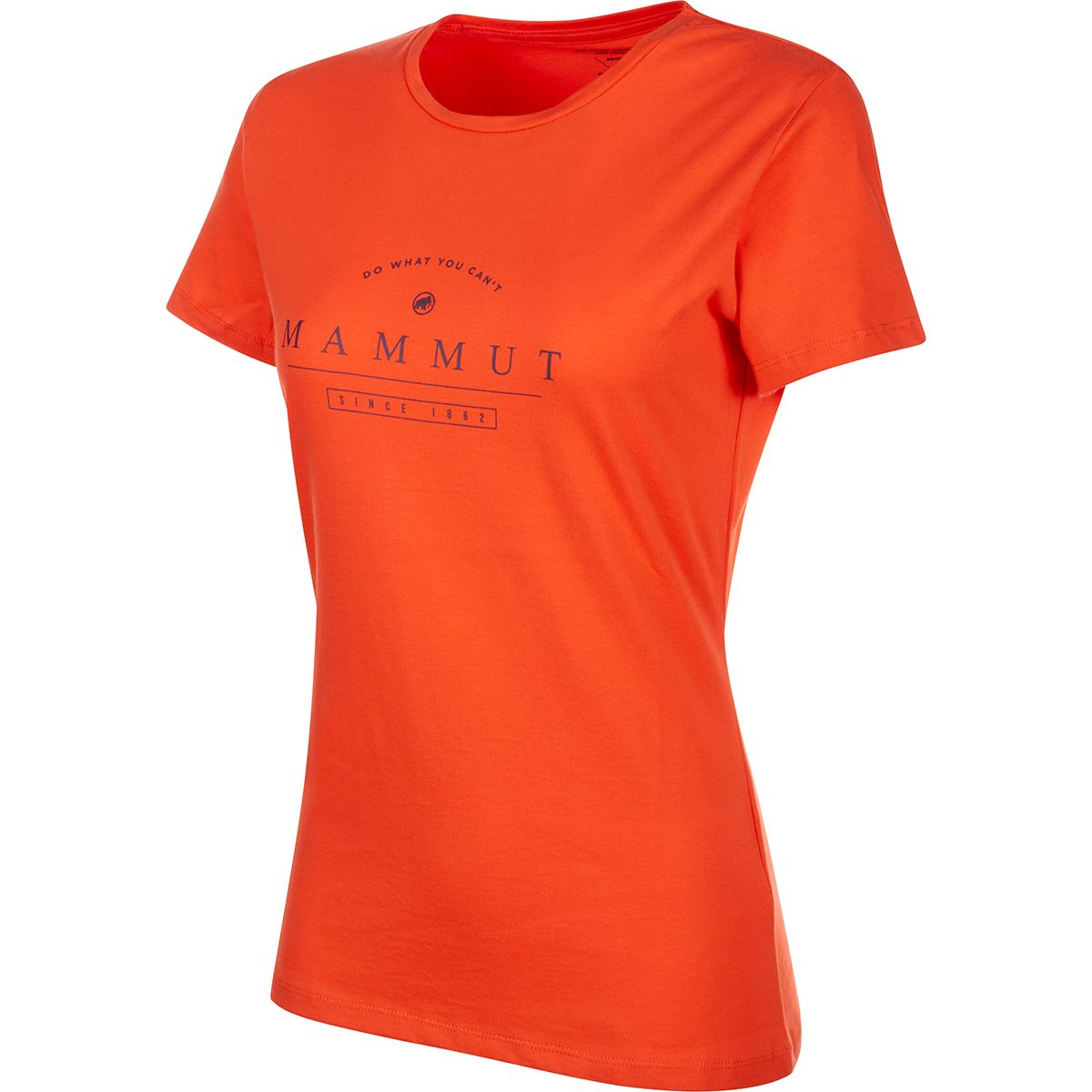 Mammut Damen Seile T-Shirt (Größe S, Orange) | T-Shirts Freizeit > Damen