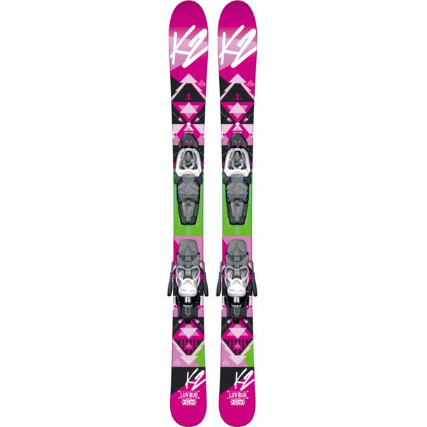 K2 Luv Bug Kids Ski Set 76cm