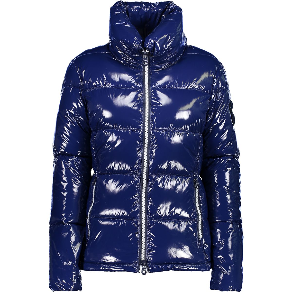 CMP Damen Shiny Flock Jacke (Größe 4XL, Blau) | Isolationsjacken > Damen