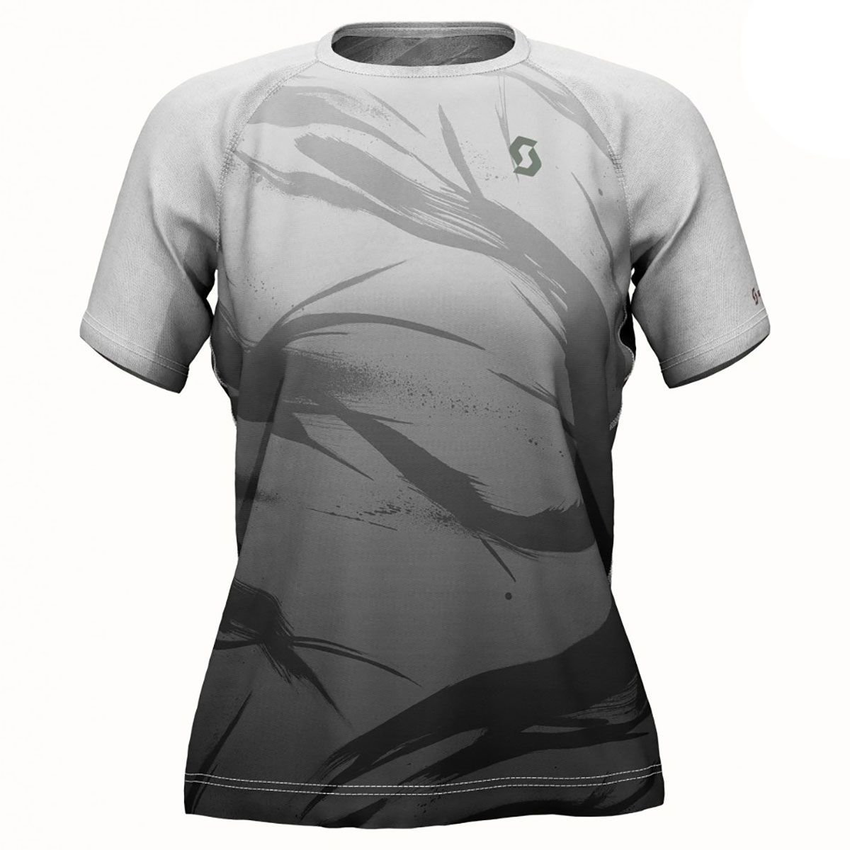 Scott Damen Kinabalu Run T-Shirt (Größe M, Grau) | T-Shirts Funktion > Damen