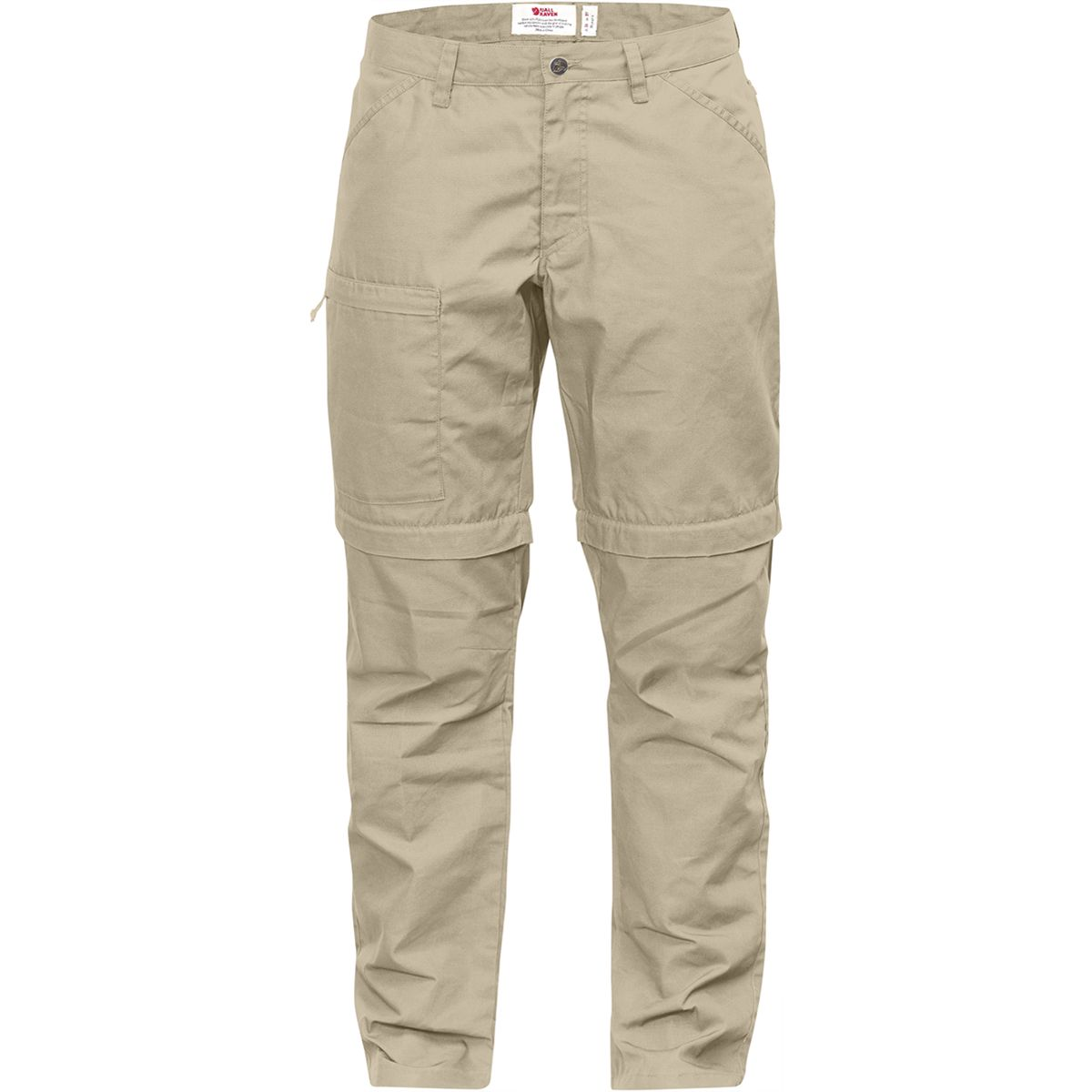 Fjällräven Damen High Coast Zip-Off Hose (Größe XS, Beige) | Zip-Hosen > Damen