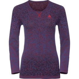 Odlo Damen Evolution Light Blackcomb Longsleeve
