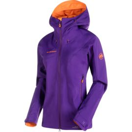 Mammut Damen Ultimate Eisfeld SO Hooded Jacket