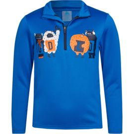 Odlo Kinder Harbin Print 1/2 Zip-Shirt