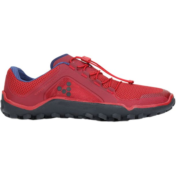 Vivobarefoot Men's Primus Trail Shoe red-yellow 42