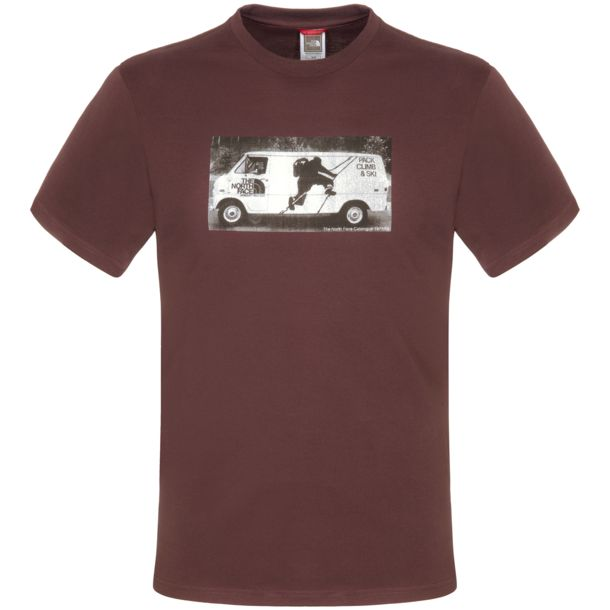 The North Face Herren Company Car S/S Tee fudge brown fudge brown S