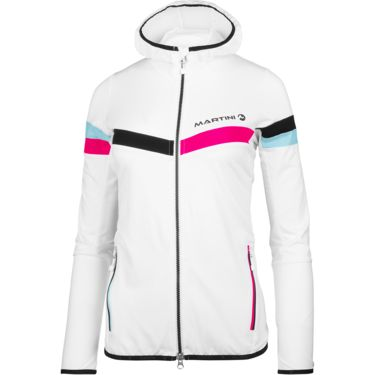 Martini Damen Identity Jacke white-hot pink-ice-black L