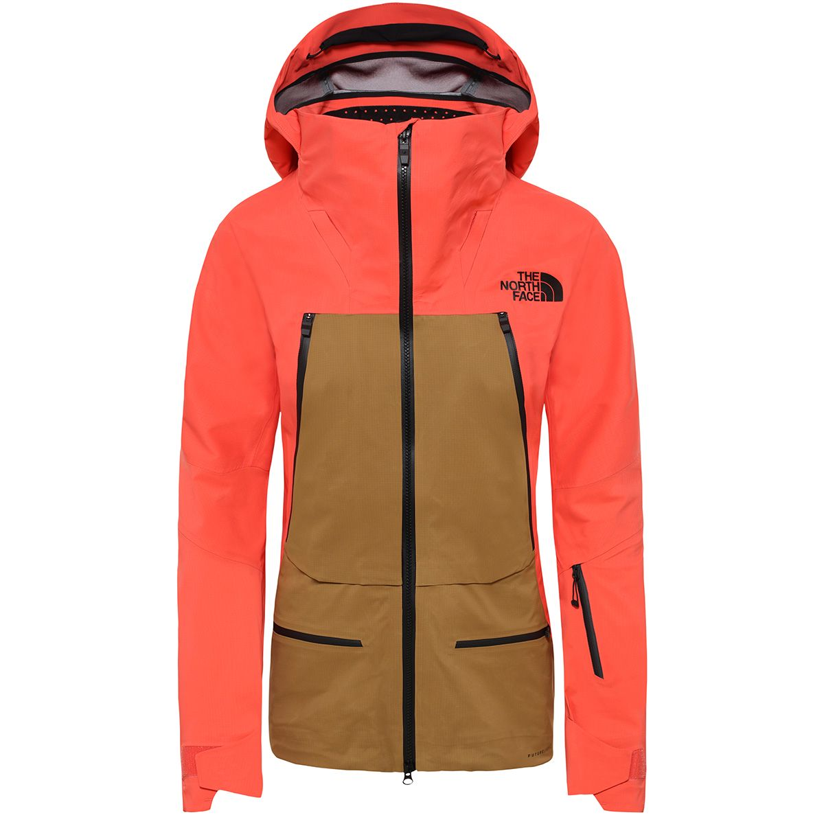 The North Face Damen Purist Jacke (Größe L, Orange) | Skijacken > Damen