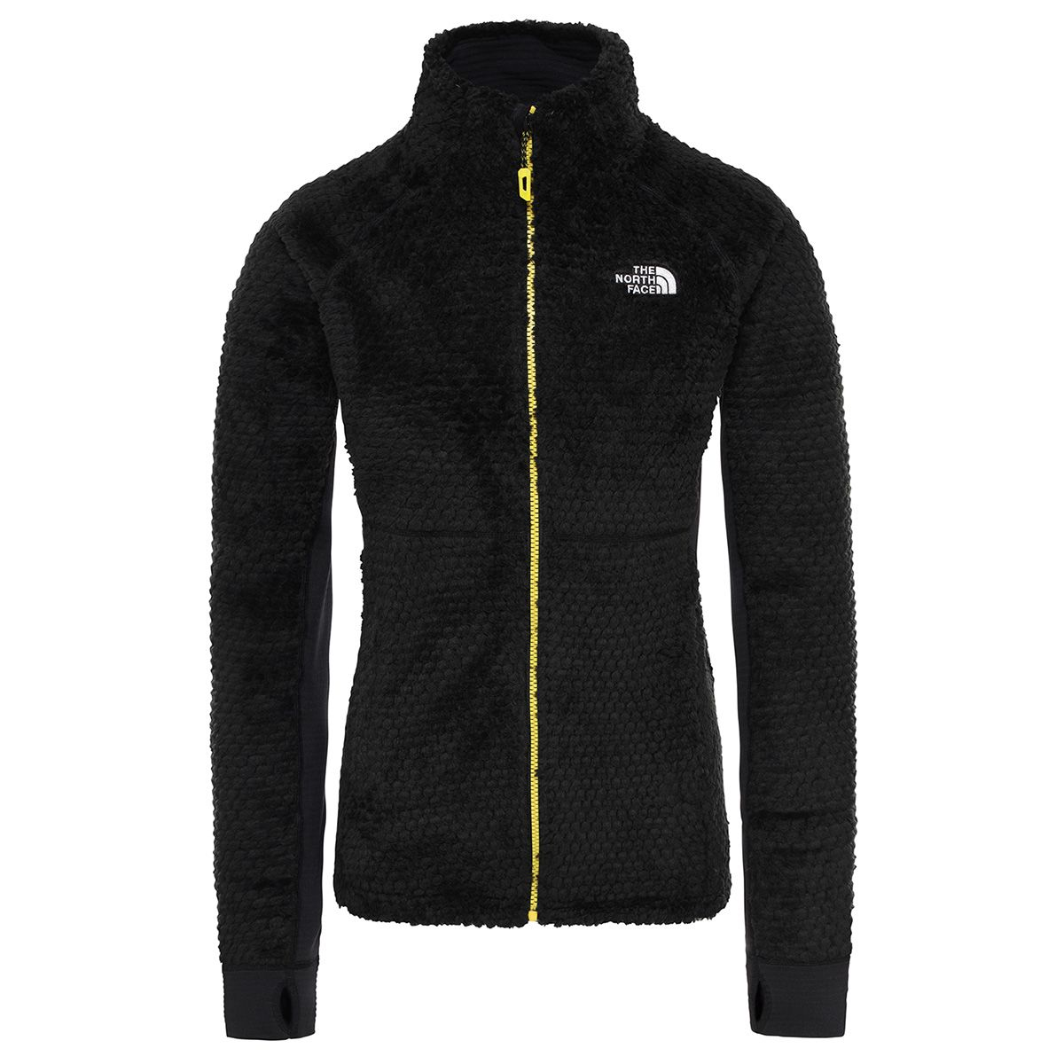 The North Face Damen Shimasu Fleece Jacke (Größe S, Schwarz) | Fleecejacken > Damen