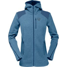 Norrona Damen Tamok Warm/wool2 Zip Hood