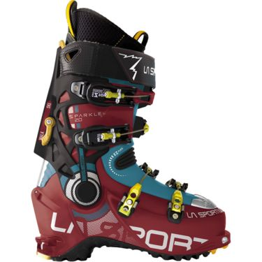 La Sportiva Damen Sparkle 2.0 Tourenstiefel berry/blue moon 24.5