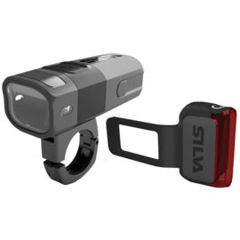 Silva City Bike Light X Sicherheitslicht Set