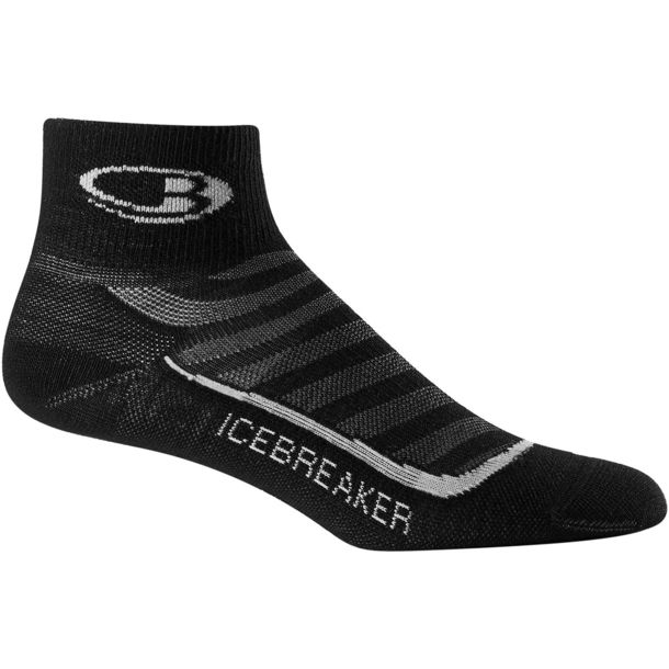 Icebreaker Damen Run+ UL Mini black/pearl S