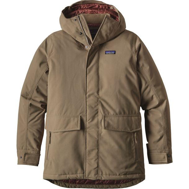 Patagonia Men's Stormdrift Parka Ash Tan S