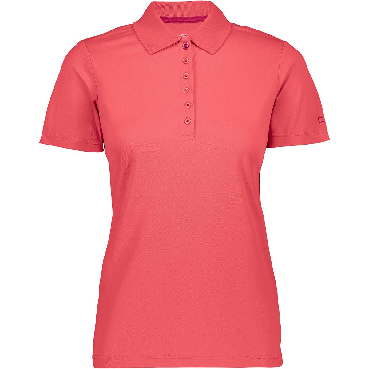 CMP Damen Polo T-Shirt (Größe S, Pink) | T-Shirts Funktion > Damen