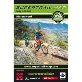 Supertrail Map Meran North - MTB