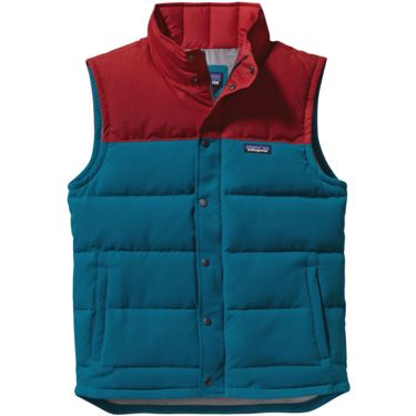 Patagonia Men's Bivy Down Vest underwater blue S
