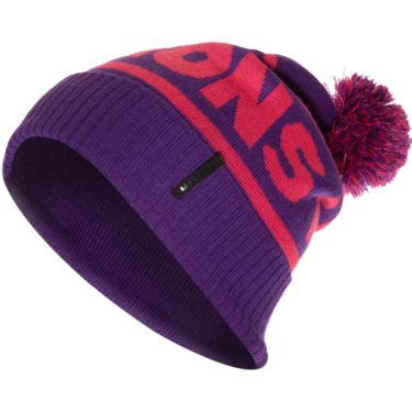 Mons Royale Men's Retro Pom Beanie purple