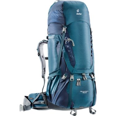 Deuter Aircontact 75+10 Backpack arctic-navy