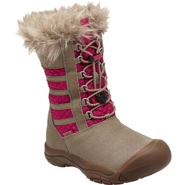 Keen Kids Wapato WP Kids Winter Boots brindle US1