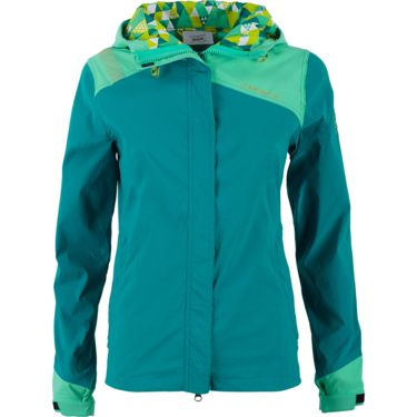La Sportiva Women's Pitch Jacket emerald/mint XS