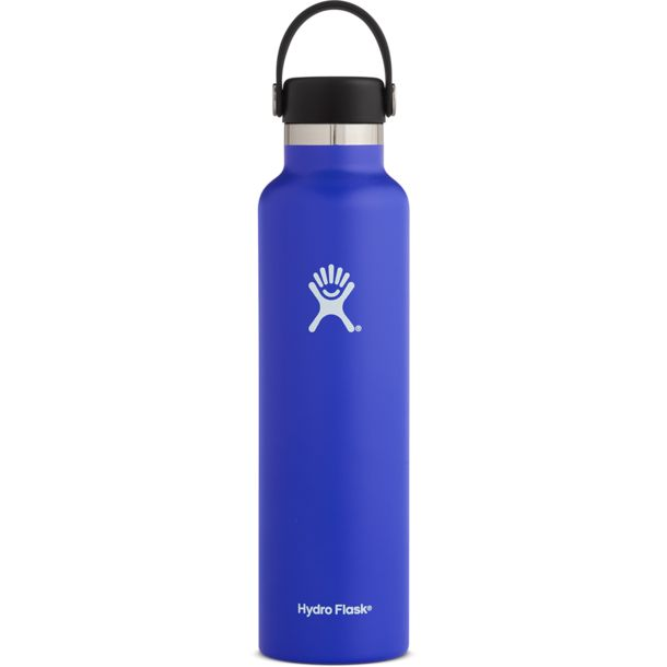 Hydro Flask 24oz Standard Mouth 709ml Isolierflasche blueberry