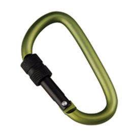 Munkees D-Shape Carabiner w. Screw Lock 6x60mm