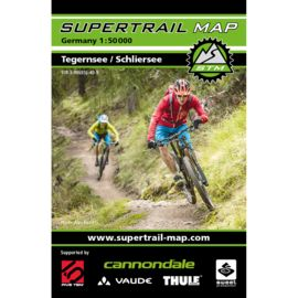 Supertrail Map Tegernsee-Schliersee - MTB