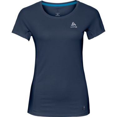 Odlo Damen Omnius F-Dry T-Shirt diving navy XS