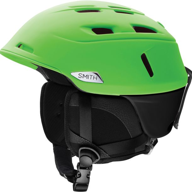 Smith Camber Skihelm matte reactor black S