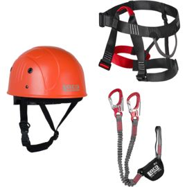 LACD Kit Via Ferrata E4 Klettersteig Starter Set