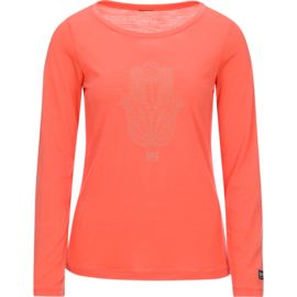 Super.Natural Damen Graphic 140 Longsleeve