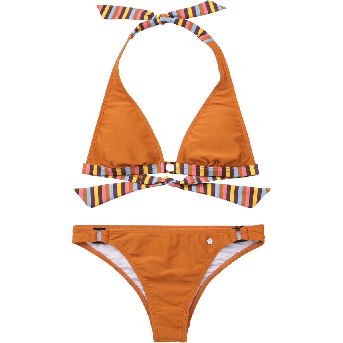 Image of Alprausch Damen Blatterwiese Bikini (Größe L, Orange)