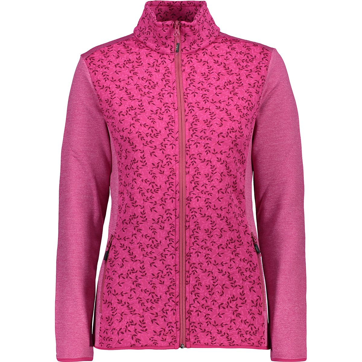 CMP Damen Stretch Fleece Jacke (Größe 4XL, Pink) | Fleecejacken > Damen