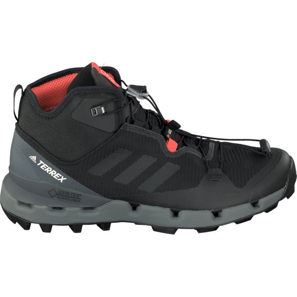 Herren Terrex Fast Mid GTX Surround Schuhe core black-vista grey UK 7.5