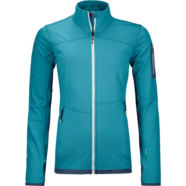 Ortovox Damen Fleece Light Jacke aqua XS