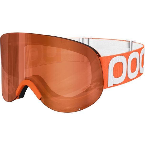 POC Lid Ski Goggles zink orange