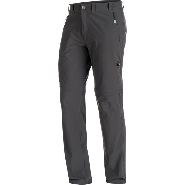 Mammut Heren Runbold Zip Off Broek graphite 48