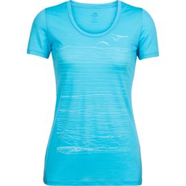 Icebreaker Damen Spector Scoop Coast T-Shirt